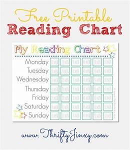 Free Printable Reading Chart