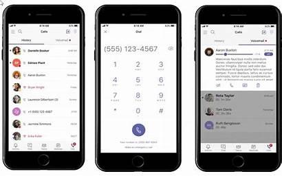 Teams App Microsoft Vergadering Mobile Alta Mobiele
