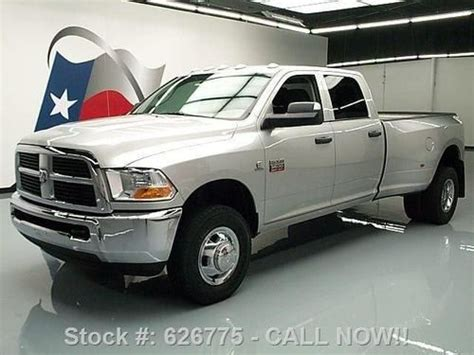 Sell used 2011 DODGE RAM 3500 4X4 CREW H.O. DIESEL DUALLY