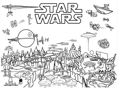 starwars coloring pages wars coloring pages homeschool library of links