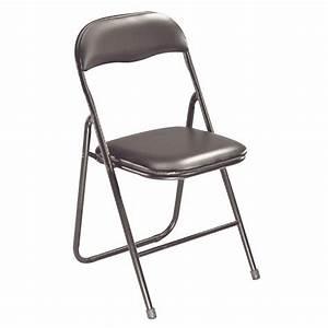 Chaise Pied Metal Noir : chaise eco pliante noir pieds m tal noir jpg ~ Teatrodelosmanantiales.com Idées de Décoration