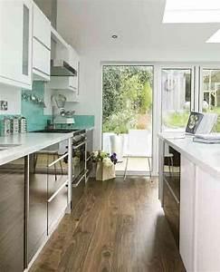 galley kitchen designs 1964