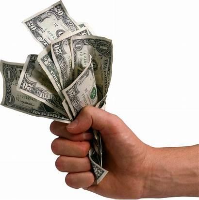 Money Hand Dollars