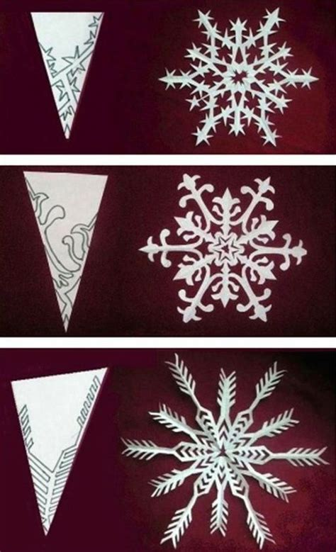 flocon de neige en papier flocons de neige en papier flocons nous avons et avions