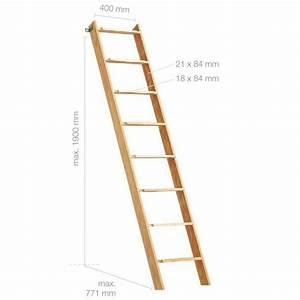Echelle En Bois Déco : chelle en bois h190cm 8 marches achat vente escalier ~ Dailycaller-alerts.com Idées de Décoration