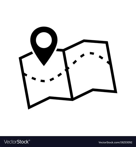 26 images of maps icon. Map icon image of a location map icon Royalty Free Vector