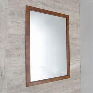 Großer Spiegel Ohne Rahmen : die 25 besten ideen zu spiegel holzrahmen auf pinterest ~ Michelbontemps.com Haus und Dekorationen