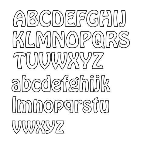 image gallery letter outline