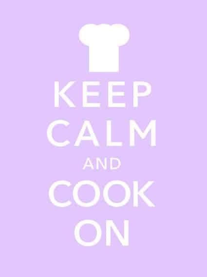 cook calm keep cookware ceramic cooking carry kitchen quotes fish had poster pans frying eat