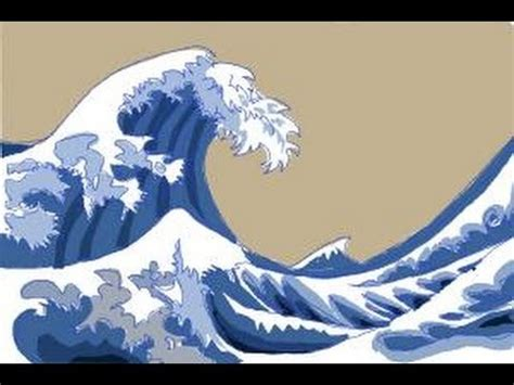 Japanisches Bild Welle by How To Draw Japanese Waves