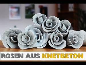 Deko Aus Beton Selber Machen : diy rosen aus knetbeton rosendeko deko aus beton how to do deko selber machen youtube ~ Markanthonyermac.com Haus und Dekorationen