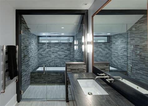 Modern Bathroom And Shower by Evanston Prairie Style House Renovation Modern