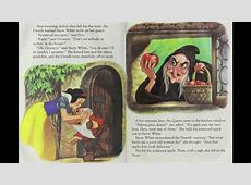 Snow White and the Seven Dwarfs Disney Little Golden