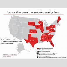 Election 2012 Voting Laws Roundup  Brennan Center For Justice