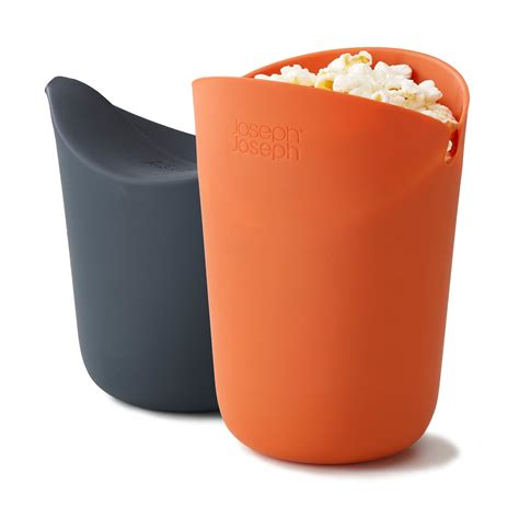 m cuisine popcorn maker set of 2 by joseph joseph