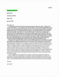 college essay cover letter examples