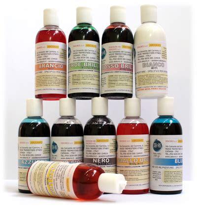 colorante alimentare in polvere dove si compra liquido per colorare acqua colori per dipingere sulla pelle