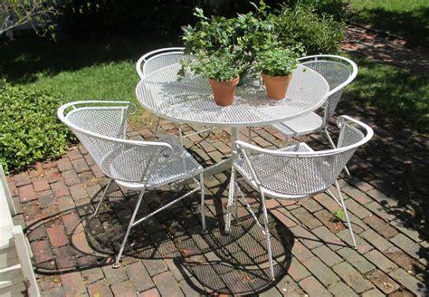Antique Metal Outdoor Furniture  Antique Furniture