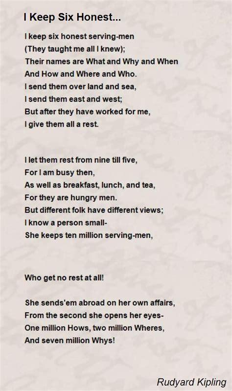 all about resumes leigh hannigan i keep six honest poem by rudyard kipling poem