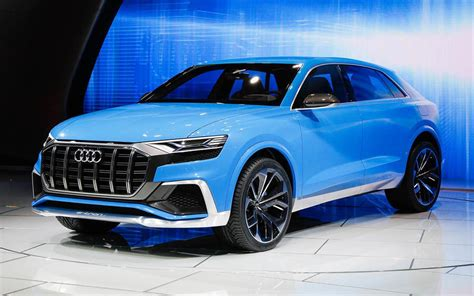 first glance at audi 39 s new exclusive rs q8 suv with over