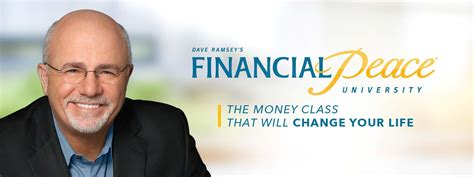 Financial Peace University  Lives Changed By Christ