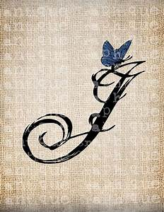 Vintage Initials Letter Pictures to Pin on Pinterest ...