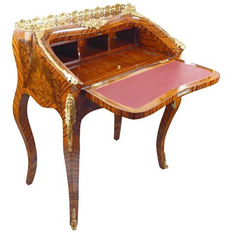 bureau scriban bureau scriban de style louis xv avec marqueterie et bronzes