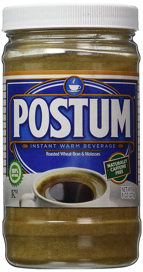 The most important reason is that you know exactly what's in it. Original Flavor Postum - Coffee Drink Substitute 8 ounce