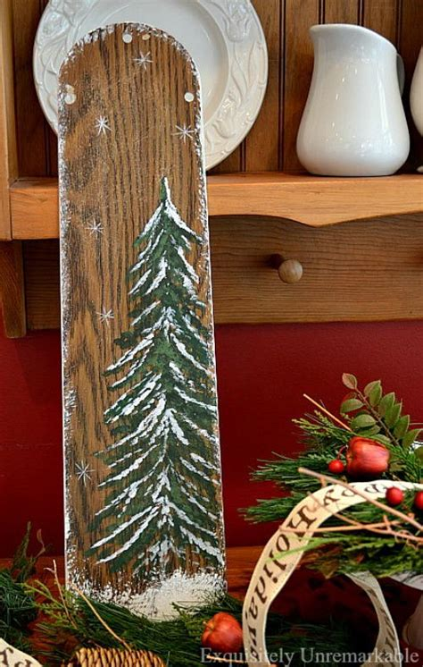 recycled ceiling fan christmas decor allfreechristmascraftscom