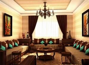 la decoration de la maison et du salon marocain With la decoration de la maison