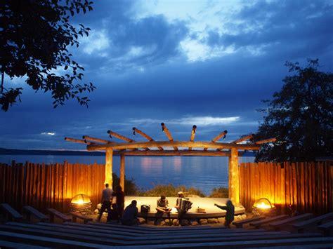 Camp Orkila Amphitheater at Dusk