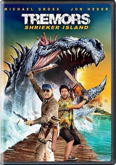 Tremors Island Shrieker Dvd Movie