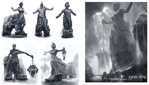 The Art Of Cliff Childs God Of Warascension Concepts