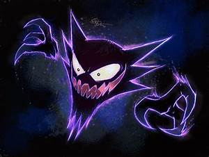Red and Blue Haunter by lord-phillock on DeviantArt