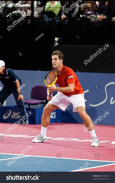 Andy murray vs richard gasquet ! Montpellier - France - October 25 : Richard Gasquet ...
