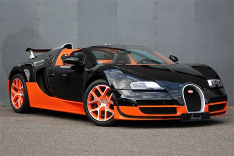 Depending upon the variant and fuel type the veyron has a mileage. 2013 Bugatti Veyron 16.4 Grand Sport Vitesse LHD For Sale | Car And Classic