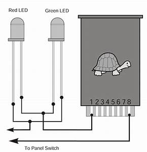 Wiring Panel Leds In Series With The Tortoise U2122 Switch