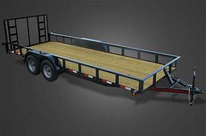 Deluxe 11000 Gvwr Utility Trailer For Sale
