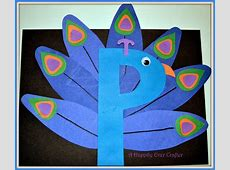 Letter P Crafts İdeas for Preschool Preschool and