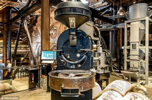 Starbucks Reserve Roastery and Tasting Room visitors can watch coffee being made   Daily Mail Online