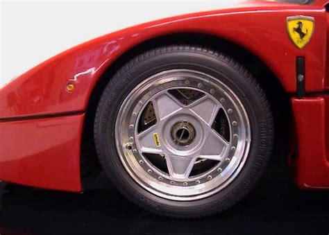 ferrari f40 wheels autograph speedline wheels mini transkit for pocher