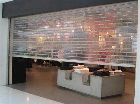 clear plastic roll up garage doors polycarbonate roll up shutters koxneal