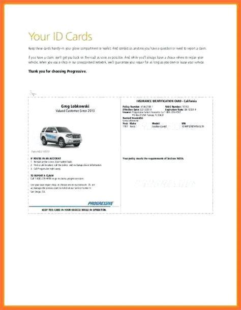 auto insurance card template free auto insurance card template progressive id cards car free spitznas info