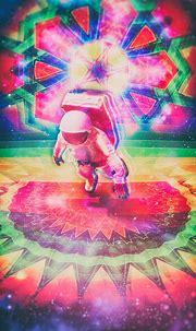 Psychedelic Astronaut digital art photoshop — Steemit