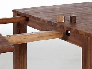 Table Bois Avec Rallonge : table rallonge ~ Teatrodelosmanantiales.com Idées de Décoration