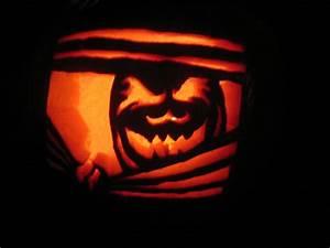 Paper, On, Paper, Pumpkin, Carving, 2009