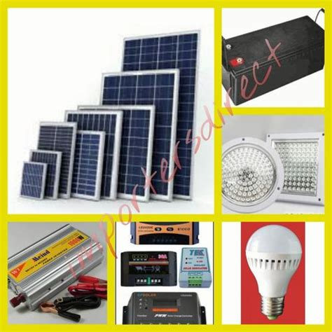 solar panels solar panel light kit with led lights for