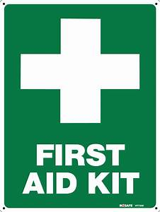 First Aid Kit Sign - Safety Signs