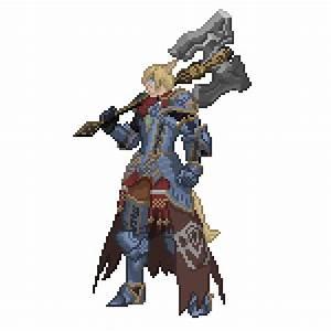 Final Fantasy XIV Character Pixel Art GoingSony