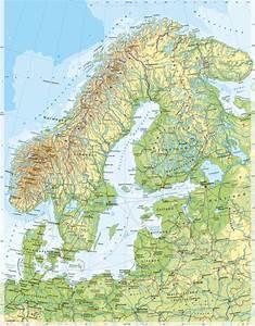 Deutschland Physische Karte : diercke weltatlas kartenansicht skandinavien und baltikum physische karte 978 3 14 ~ Watch28wear.com Haus und Dekorationen